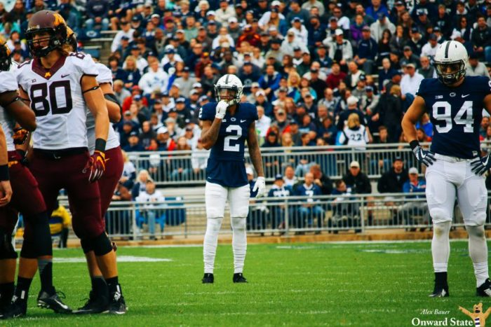 Marcus Allen Penn State Football vs Minnesota 2016