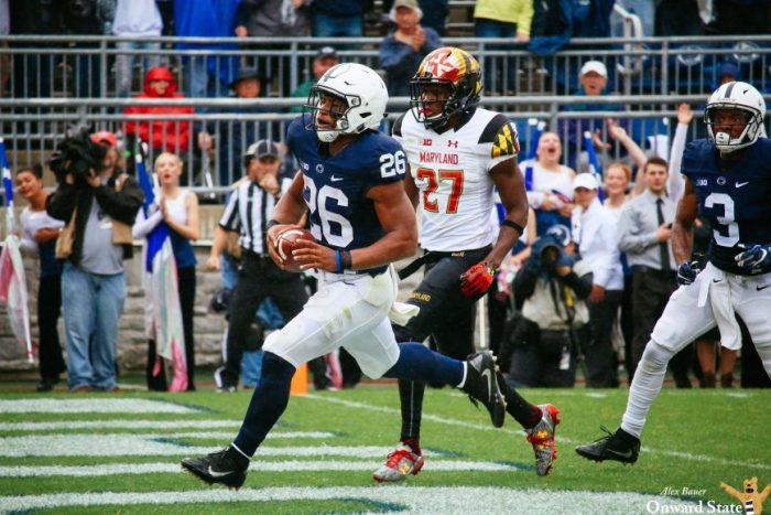 Saquon Barkley Penn State Football vs. Maryland 2016