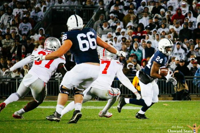 Connor McGovern Penn State Footbal vs. Ohio State 2016