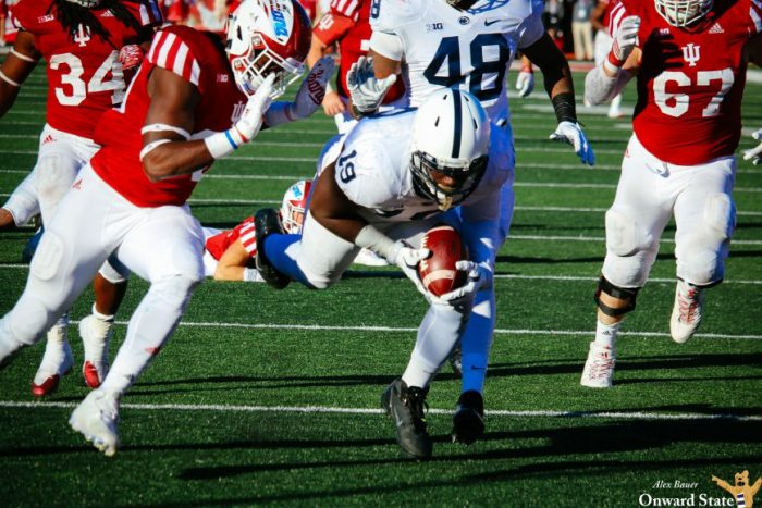 Torrence Brown Penn State Football at Indiana 2016