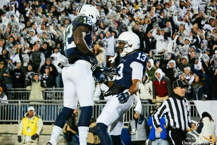 Chris Godwin and Saeed Blacknall Penn State Football vs Michigan State 2016