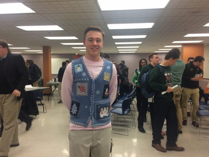 UPUA Freshman Council Member Brad Edwards