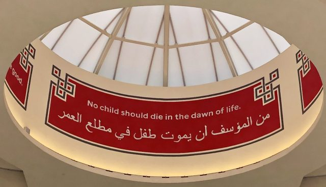From St. Jude Children's Research Hospital: No child should die in the dawn of life.