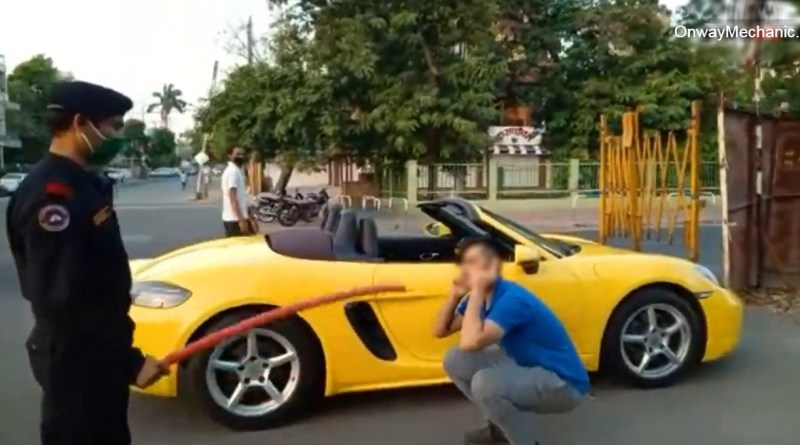 Indore Porsche Viral video lockdown