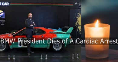 BMW President Dies of a heart attack