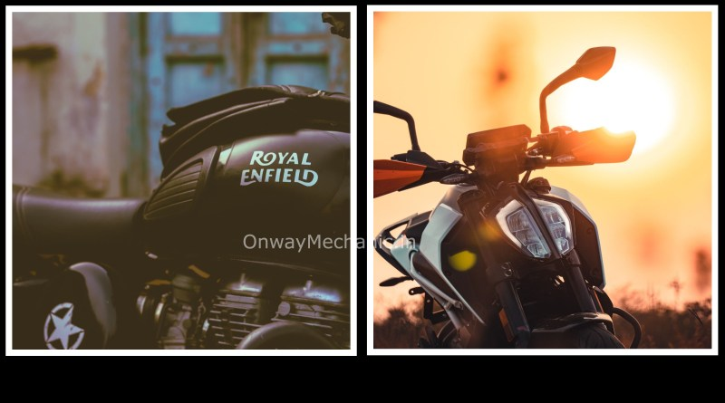 Ktm duke Royal enfield classic 500 onwaymechanic.in