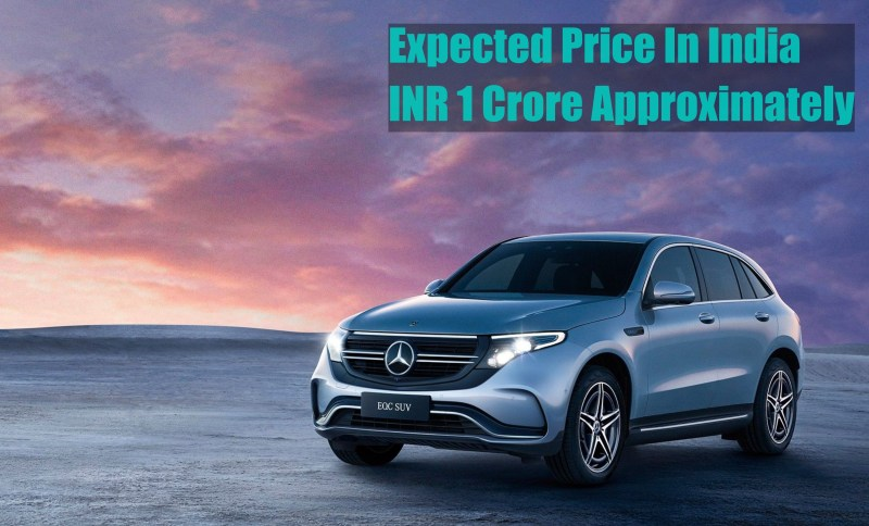 Mercedes-Benz EQC 400 Price in India