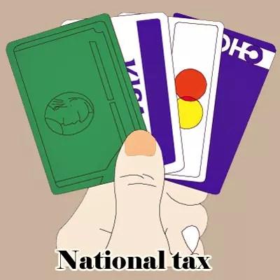 国税クレジットカードお支払サイト Visa、Mastercard、JCB、American Express、Diners Club、TS CUBIC CARD