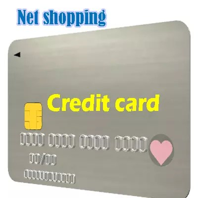 Net shopping Credit cards