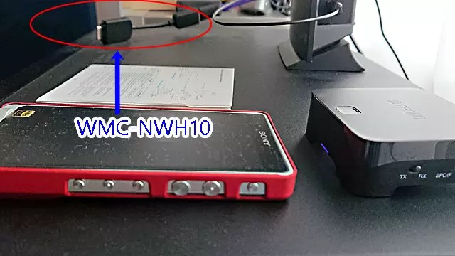 WMC-NWH10 ハイレゾオーディオ出力用USB変換ケーブル