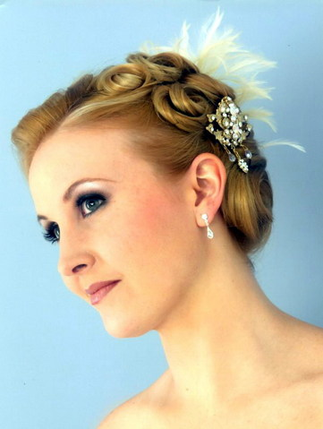 pin curls with bun onyc world