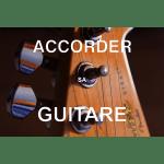 Tête de guitare électrique