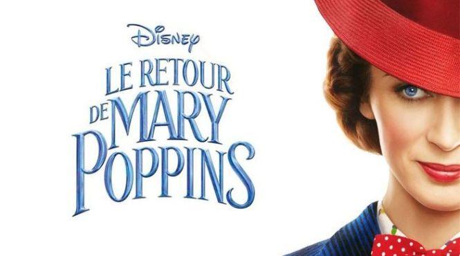 le retour de mary Poppins bannière