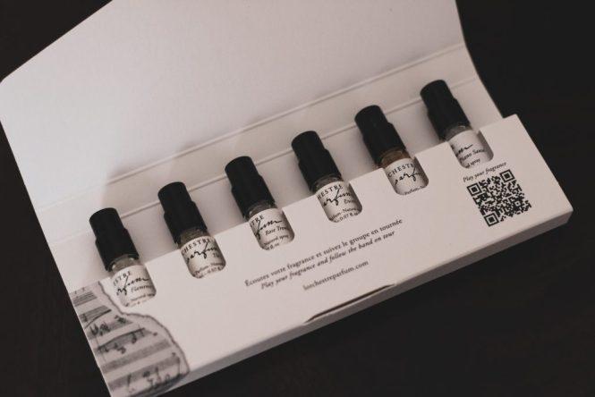 kit échantillon parfums l'orchestre parfum