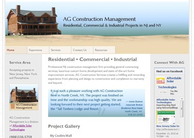 New Jersey Custom Builder and Construction Management Firm Specializing in Site Work and Luxury Homes