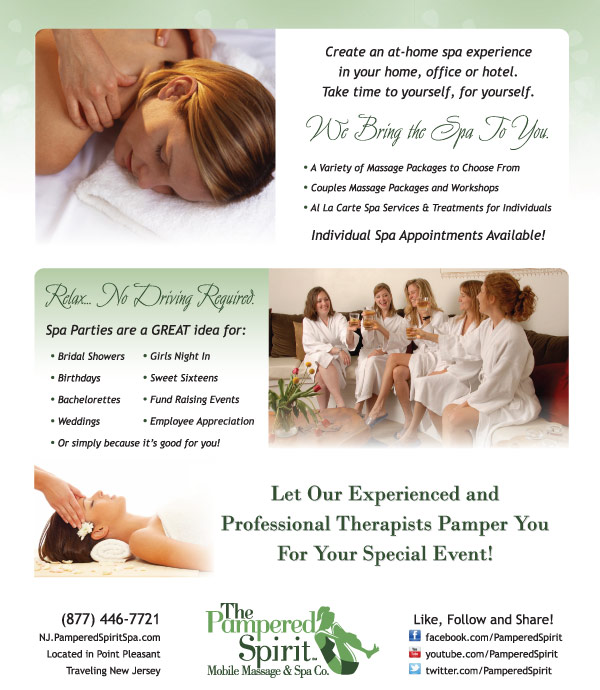 the pampered spirit mobile massage and spa