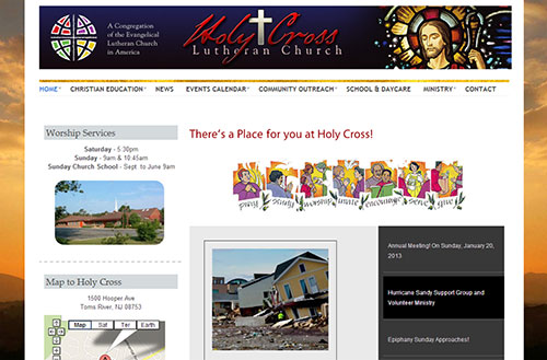 Holy Cross Lutheran Church in Toms River, NJ