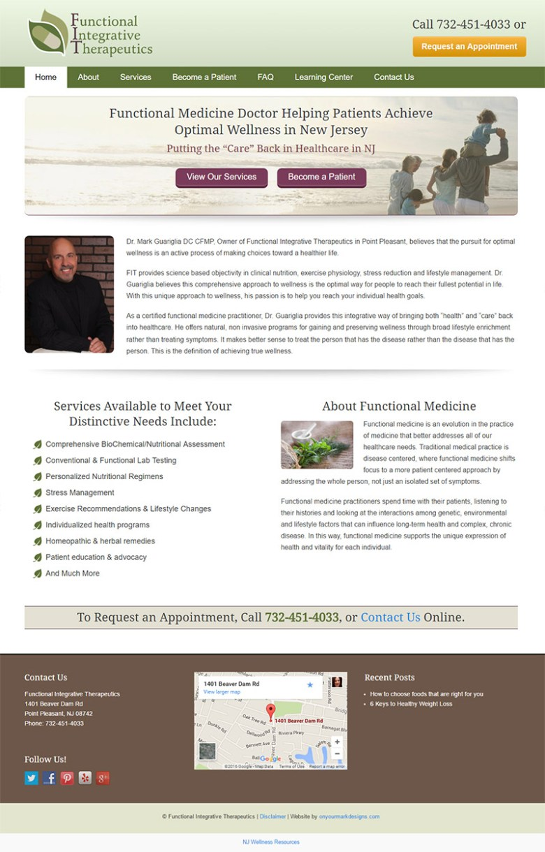 functionaldoctornj com - Web Design, Search Engine