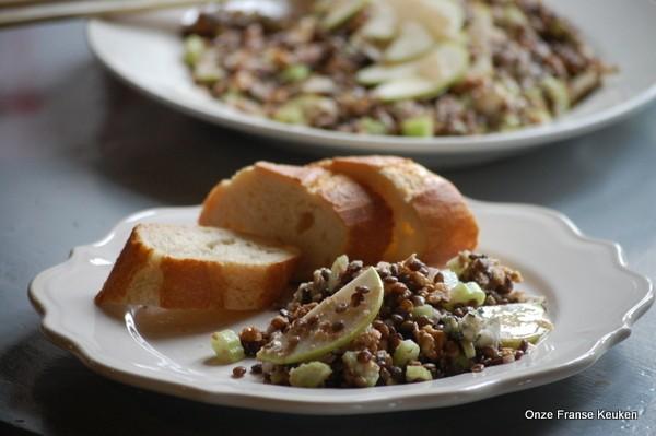 Onze Franse Keuken : Linzensalade uit de auvergne onze franse keuken