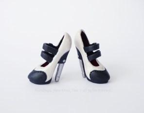 Frankie Stein heels - 30's ispired repaint