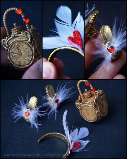 Baroque set - includes EAH Ashlynn's purse, MH Spectra's headpiece and EAH Raven Queen slippers