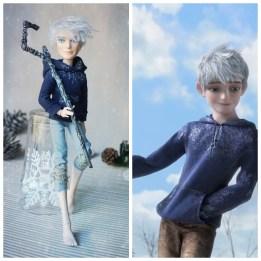 Jack Frost doll OOAK repaint Monster High
