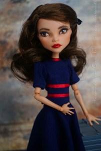 Agent Carter OOAK doll