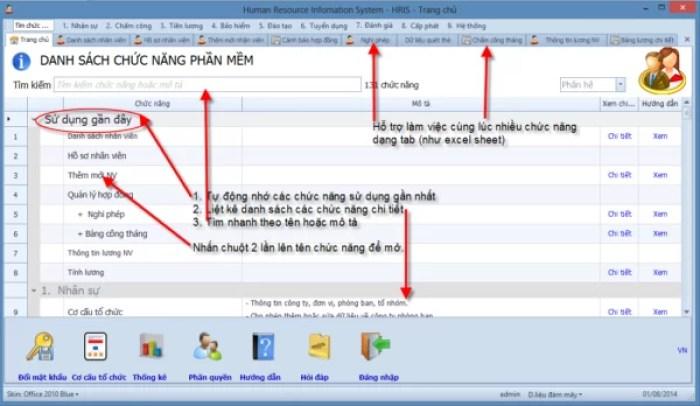 Phần mềm SV.HRIS