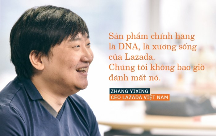 CEO Lazada Việt Nam - Zhang Yixing