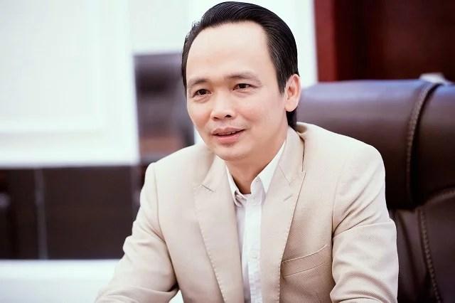Ông Trịnh Văn Quyết – Chủ tịch Tập đoàn FLC, Chủ tịch kiêm Tổng giám đốc Bamboo Airways