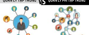 Quản lý tập trung và quản lý phi tập trung trong doanh nghiệp
