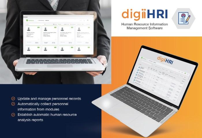 digiiHRI human resource information management software