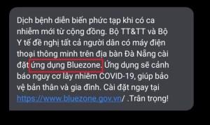 Bộ Y tế khuyến cáo mọi người cài đặt Bluezone