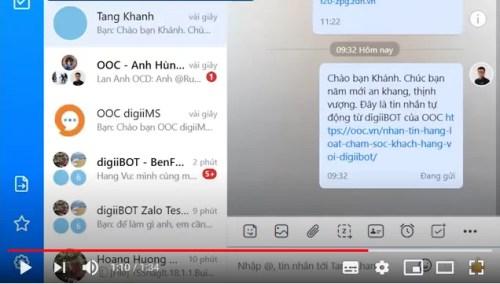 Cách gửi tin nhắn hàng loạt với digiiBOT