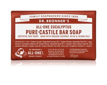 Dr. Bronners Eucalyptus Pure-Castile Bar Soap