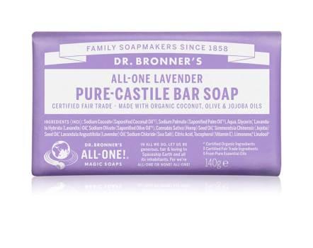 Dr. Bronner's Plantenzeep Lavendel