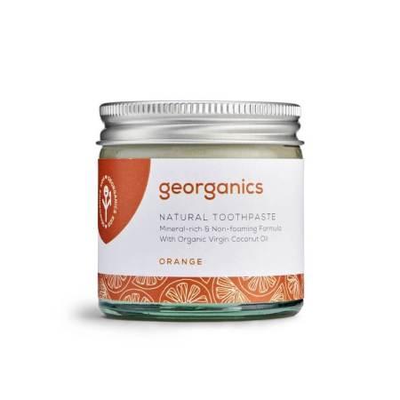 georganics zero waste toothpaste orange