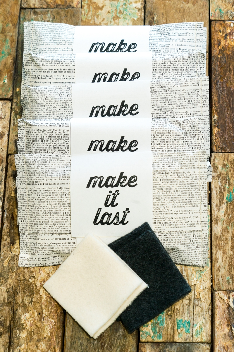 Reusable cotton make-up remover pads by Make it Last