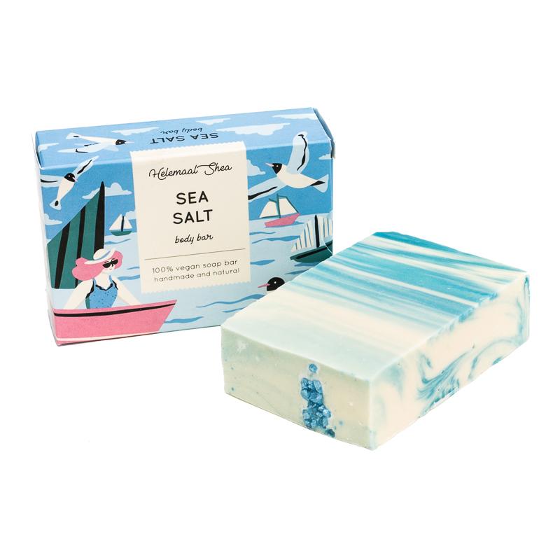 Sea Salt Body Soap - Helemaal Shea
