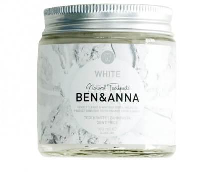Ben & Anna Natuurlijke tandpasta voor witte tanden