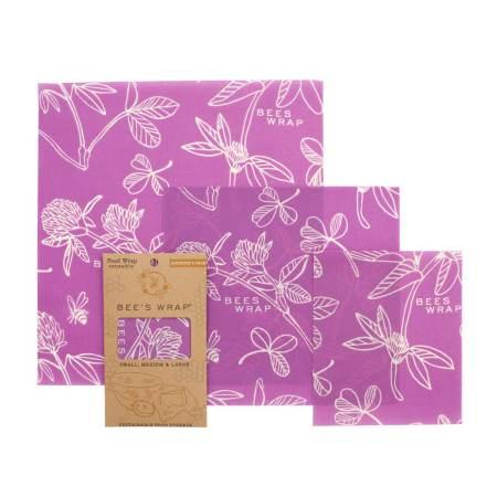 Bee's Wrap Mimi's Purple