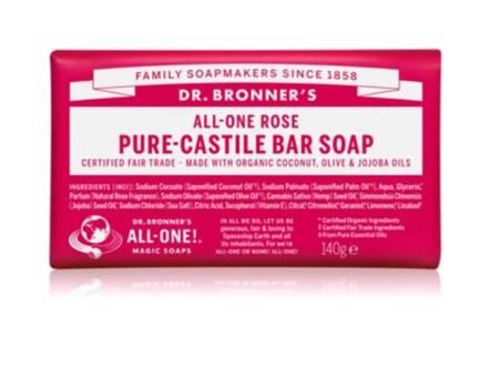 Dr. Bronner Rose zeep