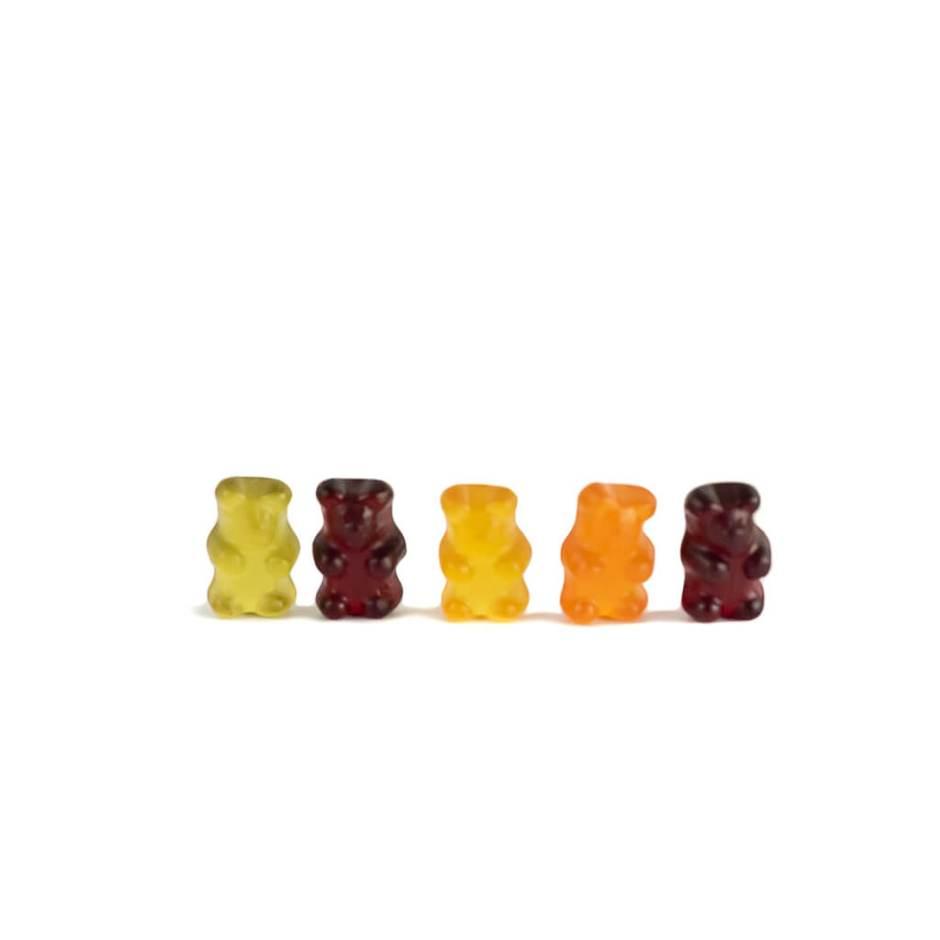 Gummy Bears (vegan and fruity)