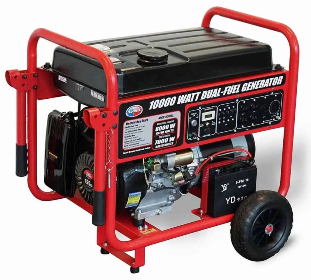 All Power American APGG10000GL Generator