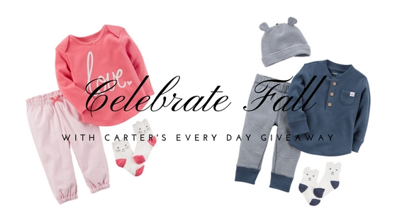 Celebrate Fall with Carter's Win Every Day Giveaway