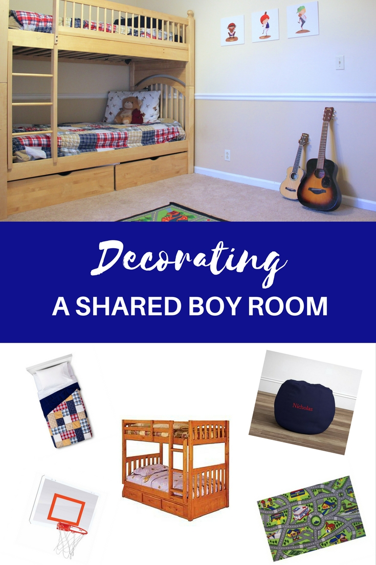 Decorating a shared boys bedroom