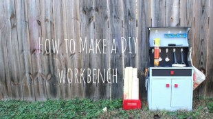 How to Make a DIY workbench