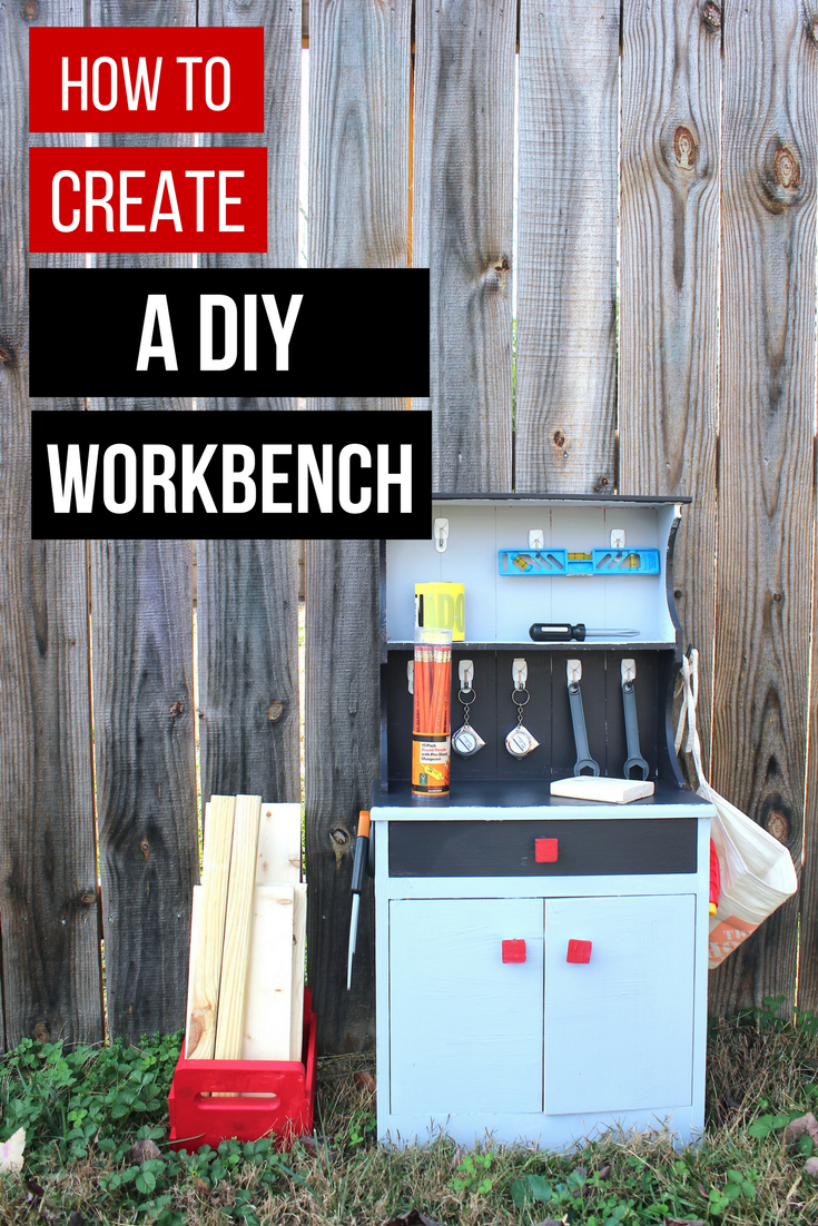 DIY workbench for kids