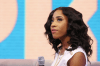 Sevyn-Streeter-106- Park-Anthony-Vaccarello-Banded- Skirt-Balmain-Printed T-shirt-Chained Embellished- Sandals-oohlalablog-6