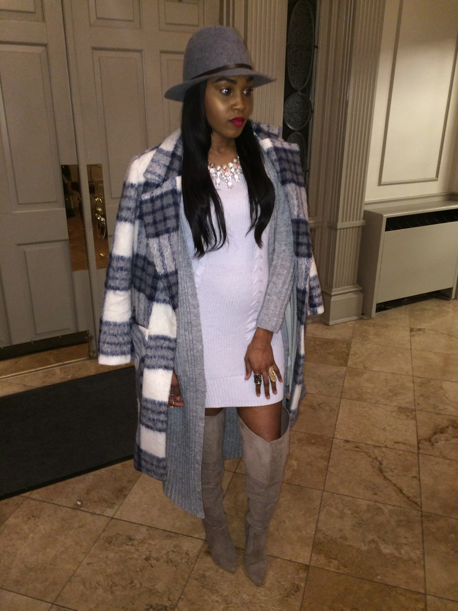Style-Files-Target-Mossimo-Supply-company-cable-knit-sweater-dress-target-mossimo-ribbed-maxi-sweater-Forever-21-Fedora-Hat-Justfab-Aliz-Over-the-knee-boots-oohlalablog-3